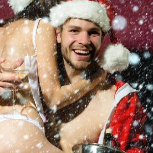 Eureka White Christmas Theme Party
