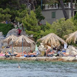 Kroatien, Insel-RAB, FKK-Kandarola
